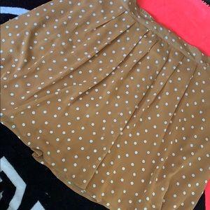 Old navy Poka dot skirt